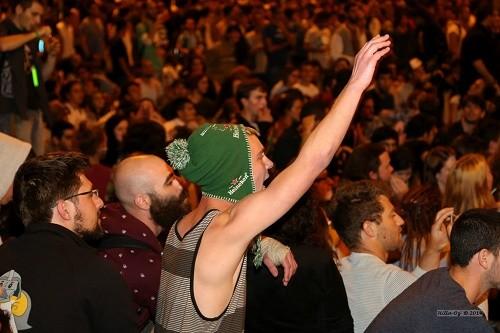 אלפי מפגיני לגליזציה בירושלים