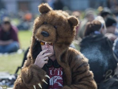 חגיגות 420 באוטאווה, קנדה
