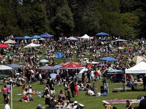 חגיגות 420 בסן-פרנסיסקו, קליפורניה