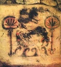 ציורי מריחואנה על קירות מערות