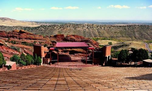 אמפיתיאטרון Red Rocks בקולורדו