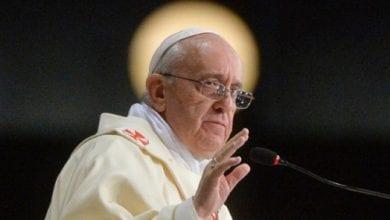 """Photo of האפיפיור: """"מתנגד ללגליזציה של מריחואנה"""""""