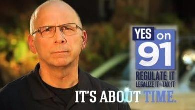 Photo of כוכב הפרסומת ללגליזציה באורגון: שוטר לשעבר