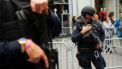 קנה ועצור שוטרים ניו יורק