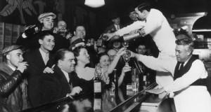 תחוגגים לגליזציה של אלכוהול - סוף תקופת היובש