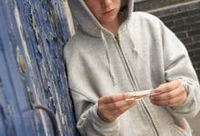 יותר בני נוער וילדים מעשנים מריחואנה