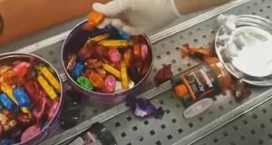 """נתב""""ג: ניסה להבריח חשיש במסווה של סוכריות"""