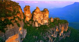 ההרים הכחולים באוסטרליה.