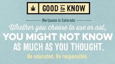 Photo of מדינת קולורדו מציגה: קמפיין לשימוש אחראי בקנאביס