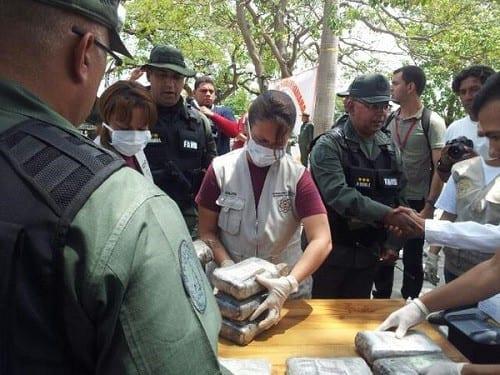 משטרת ונצואלה בספירת מלאי