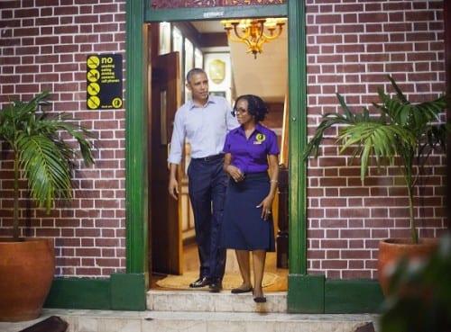 ברק אובמה ג'מייקה