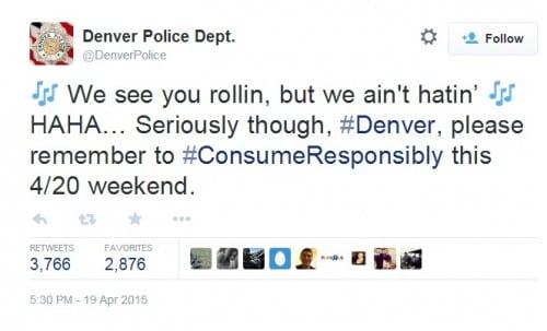 משטרת דנבר טוויטר