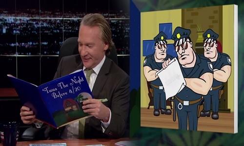 """הקומיקאי ביל מאהר לחברי הקונגרס בארה""""ב: """"הכירו ב-20 לאפריל כיום חג לאומי"""""""