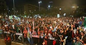 כאלף איש במצעד הקנאביס בכיכר רבין