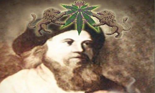 """בתמונה: כריכת הספר """"Cannabis Chassidis"""" (""""חסידי הקנאביס"""")"""