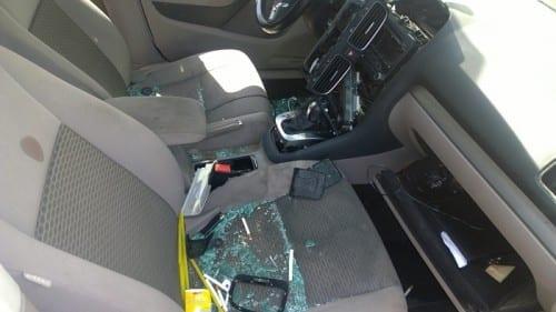 שוטרים פצעו בני זוג ברכב