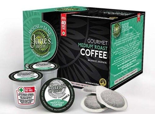 קפסולות קפה קנאביס