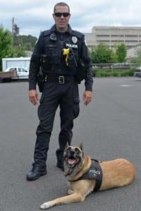 כלבי משטרה מובטלים באורגון