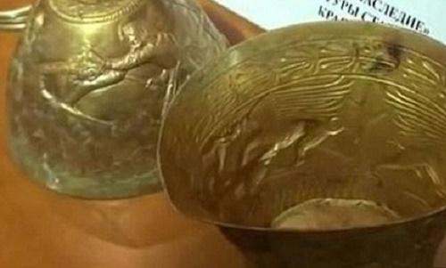 באנגים מזהב בני 2,400 שנים נמצאו ברוסיה
