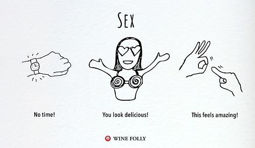 השפעות הקפה, היין והקנאביס: מין