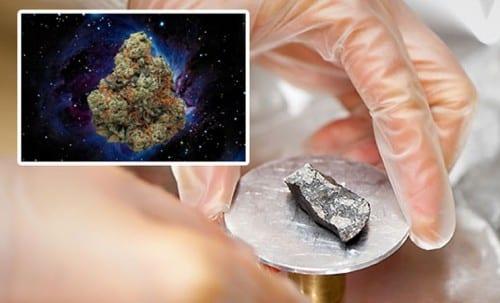 נמצאה מריחואנה בחלל?