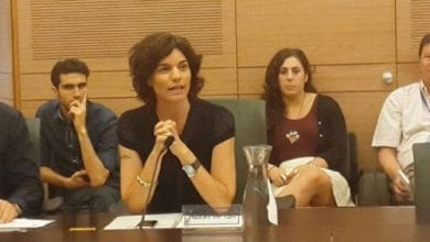 MK Zandberg was appointed as chairman of the Knesset Drugs Committee