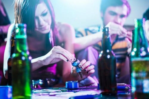אלכוהול וקנאביס
