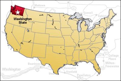 וושינגטון - גובלת בקנדה