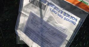 יורק: שוטרים מצאו קנאביס השאירו פתק לגנן