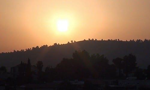 הרי ירושלים בשעות הדמדומים