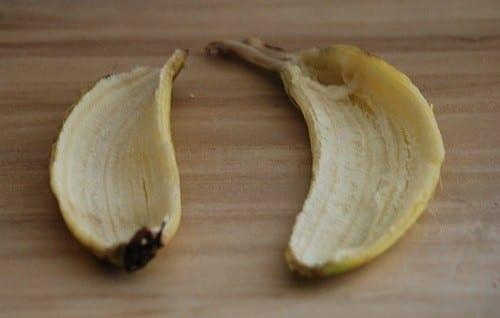 פמיניזציה עם קליפת בננה - שלב ראשון