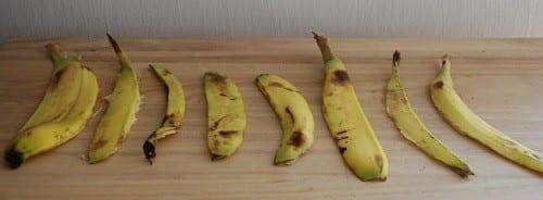 פמיניזציה עם קליפת בננה - שלב שני