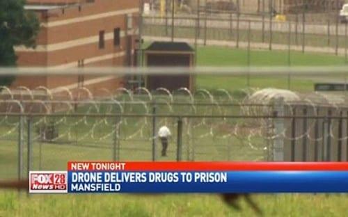 רחפן מלא סמים התרסק בכלא