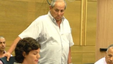 "Photo of יו""ר הרשות למלחמה בסמים סולק מועדת הכנסת"