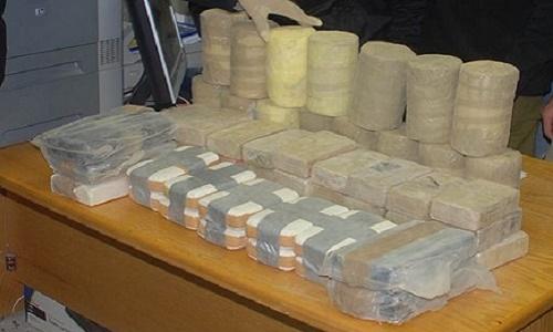תפיסת סמים בגבול מצרים - 90 קילוגרמים של חשיש ו-5 קילוגרם קוקאין