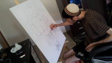 בן לביא מצייר