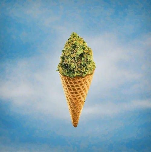 גלידה קנאביס