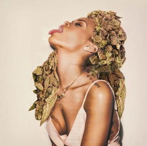 ריהאנה ראש קנאביס