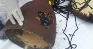 1.7 קילוגרמים של חשיש - מוסלקים בתוך תוף דרבוקה