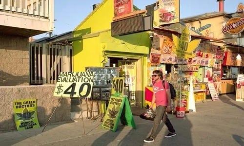 """חנויות קנאביס רפואי בקליפורניה, ארה""""ב"""