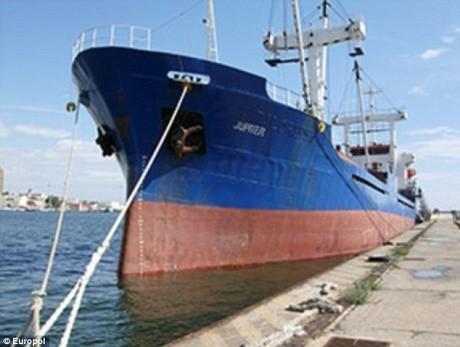 ספינת המסע 'יופיטר'