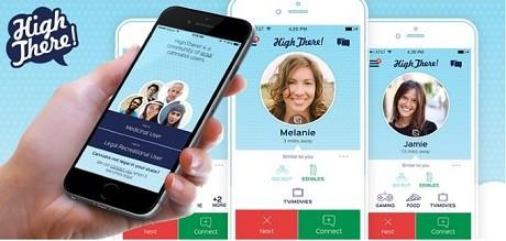 אפליקציה למציאת שותף לעישון מריחואנה