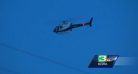 מסוק של משטרת התנועה במדינת קליפורניה