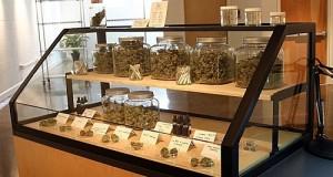 """חנות לממכר מוצרי קנאביס באורגון, ארה""""ב"""
