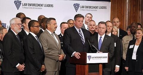 """מםקדי יחידות משטרה מארה""""ב בכנס שנערך ברביעי האחרון"""