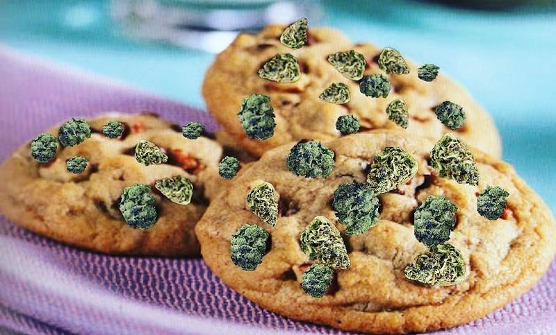 עוגיות פצפוצי קנאביס