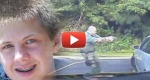 וידאו: שוטר יורה למוות בצעיר בגלל מריחואנה