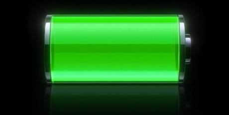 אייקון סוללה מלאה במכשירי IOS