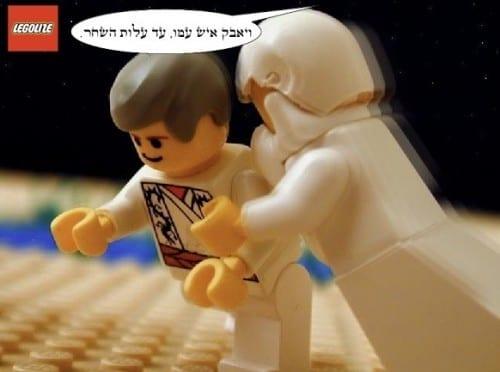 יעקב נאבק במלאך האלוהים