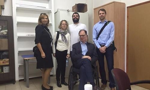 צוות מטעם משרד הבריאות הגרמני ביקר ביחידה לקנאביס רפואי